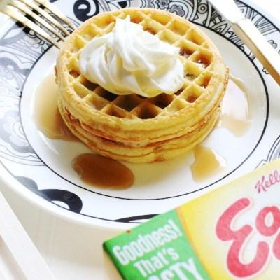 Eggo Waffle Bar Truck-Inspired PB&J Waffle Recipe