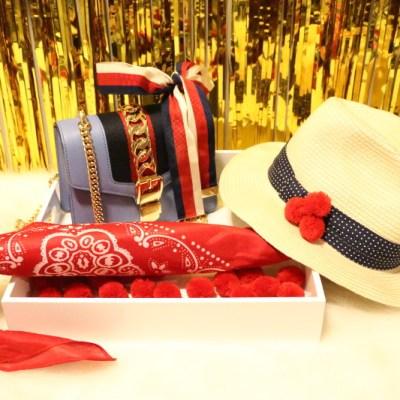 DIY Pom Pom Hat for Fourth of July