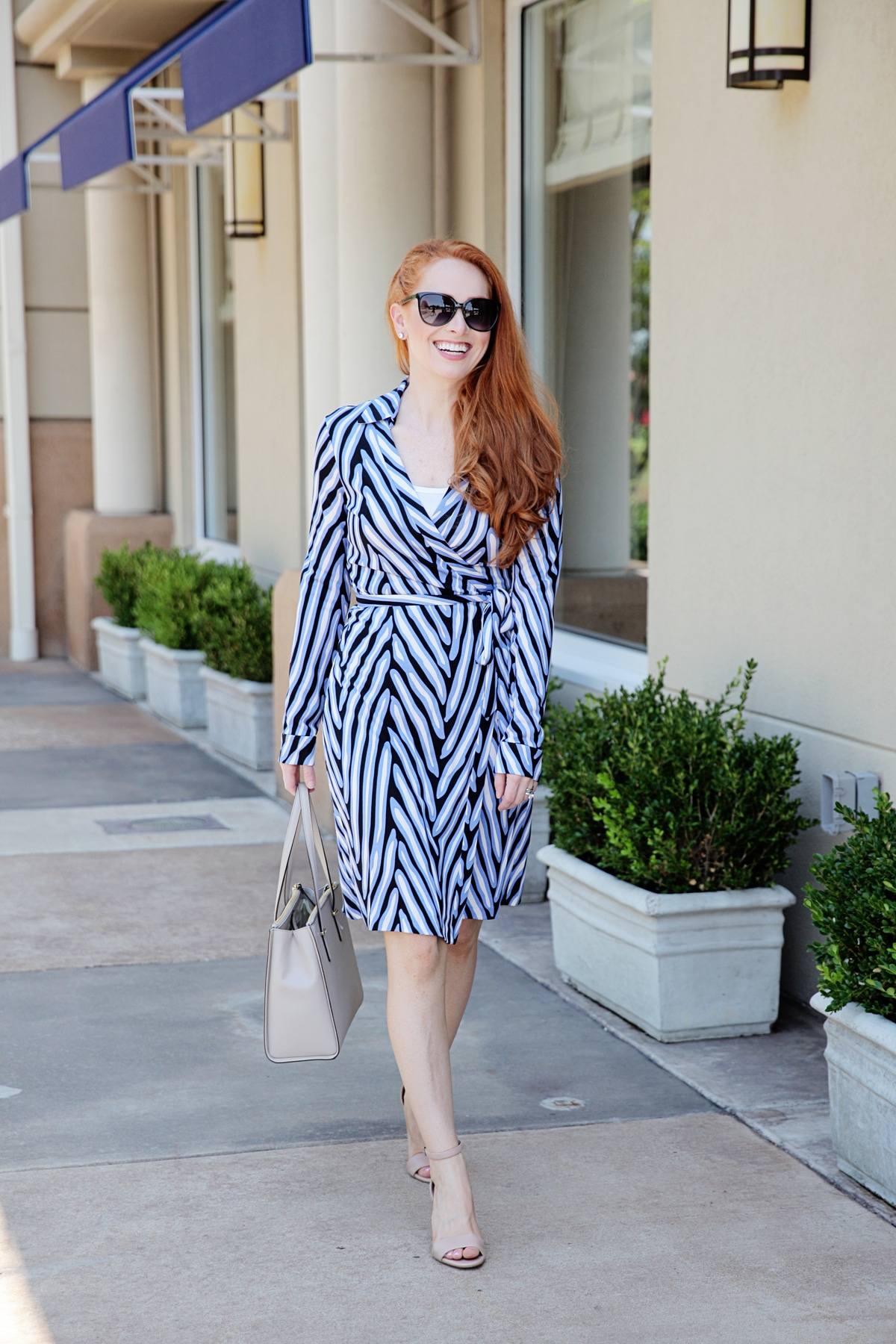 Outfit Dvf Wrap Dress Style Assisted