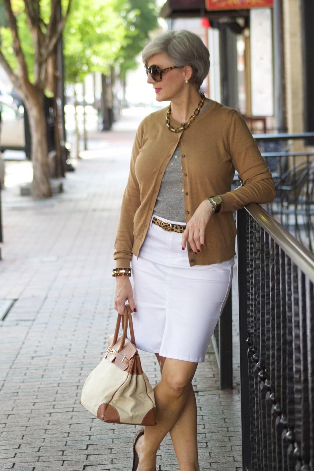 classic pencil skirt