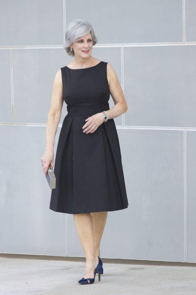 M&S black dress