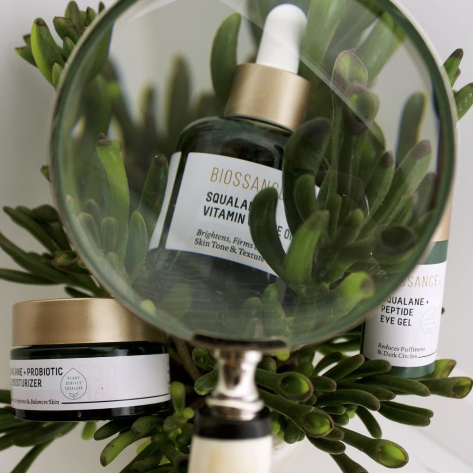sustainable skincare with biossance