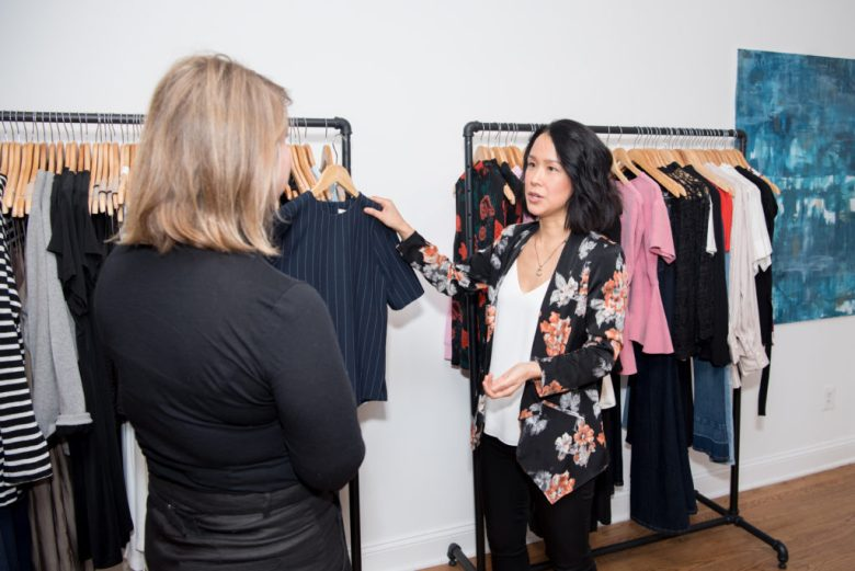 how to work with a personal stylist