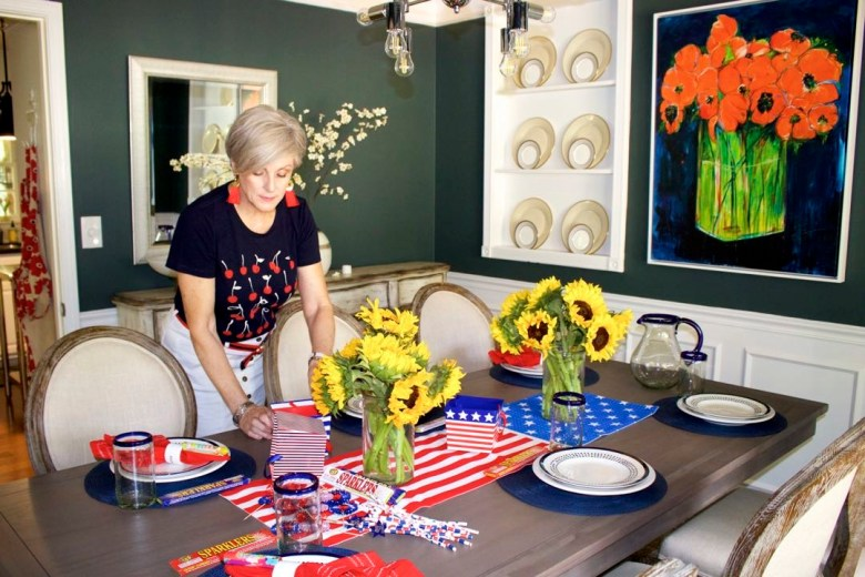 patriotic summer table