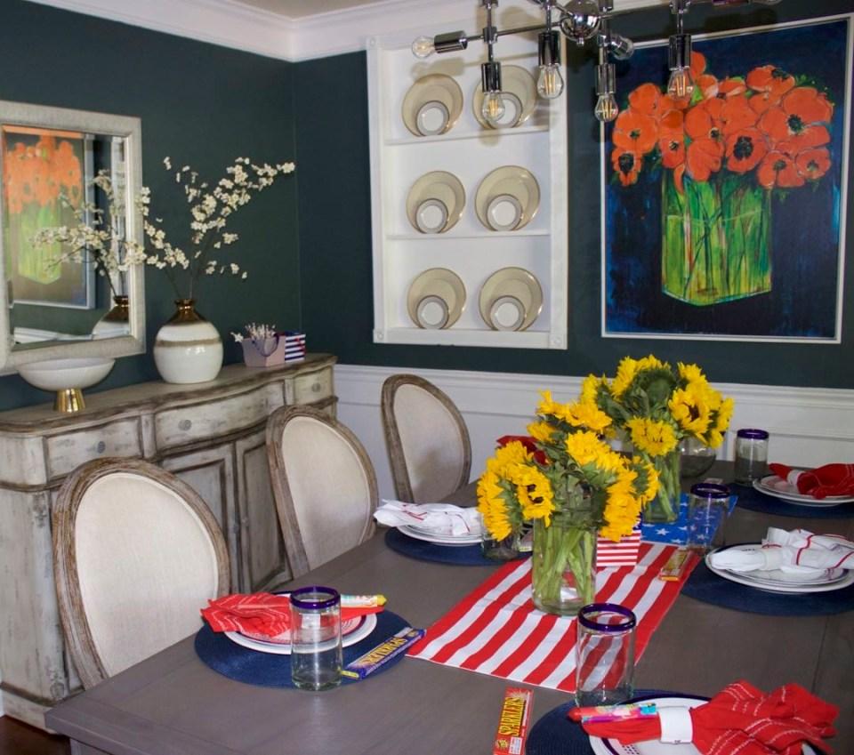 patriotic summer table