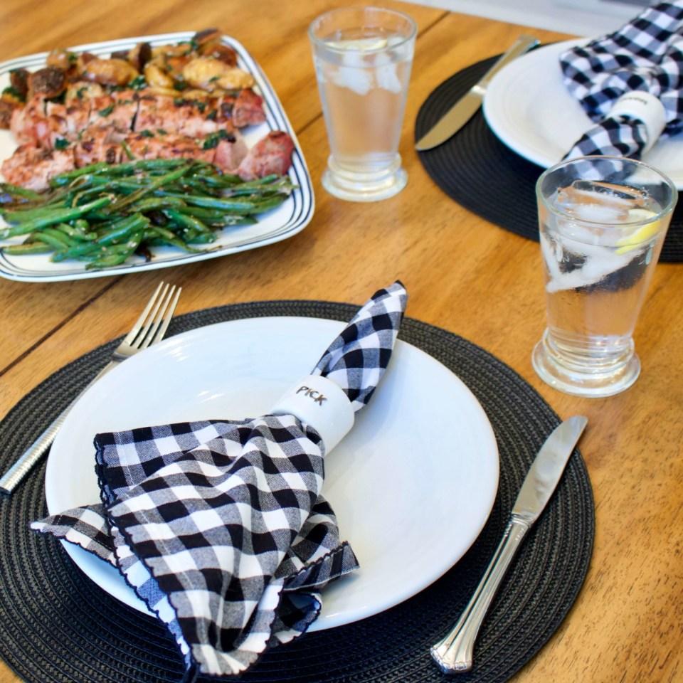 pork tenderloin sheet pan dinner