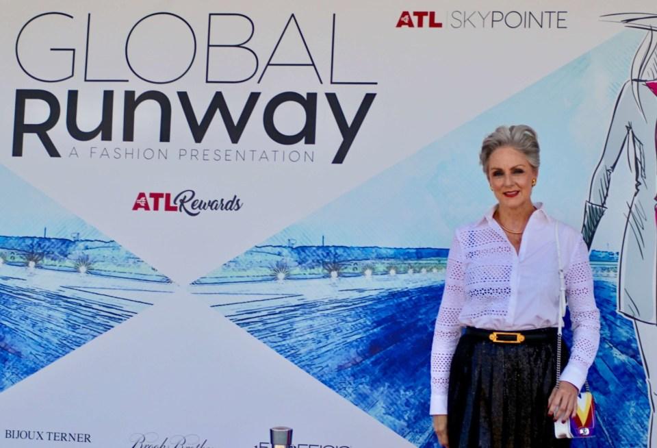 global runway fashion presentation