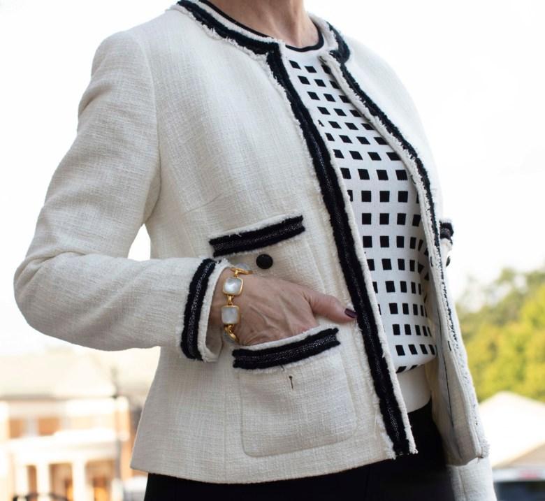 tweed jacket for fall