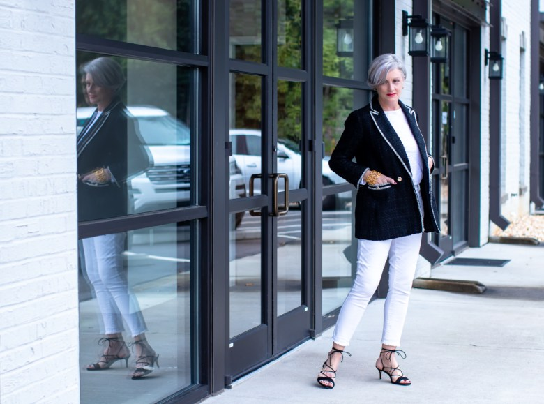 weekend getaway nighttime with Ann Taylor