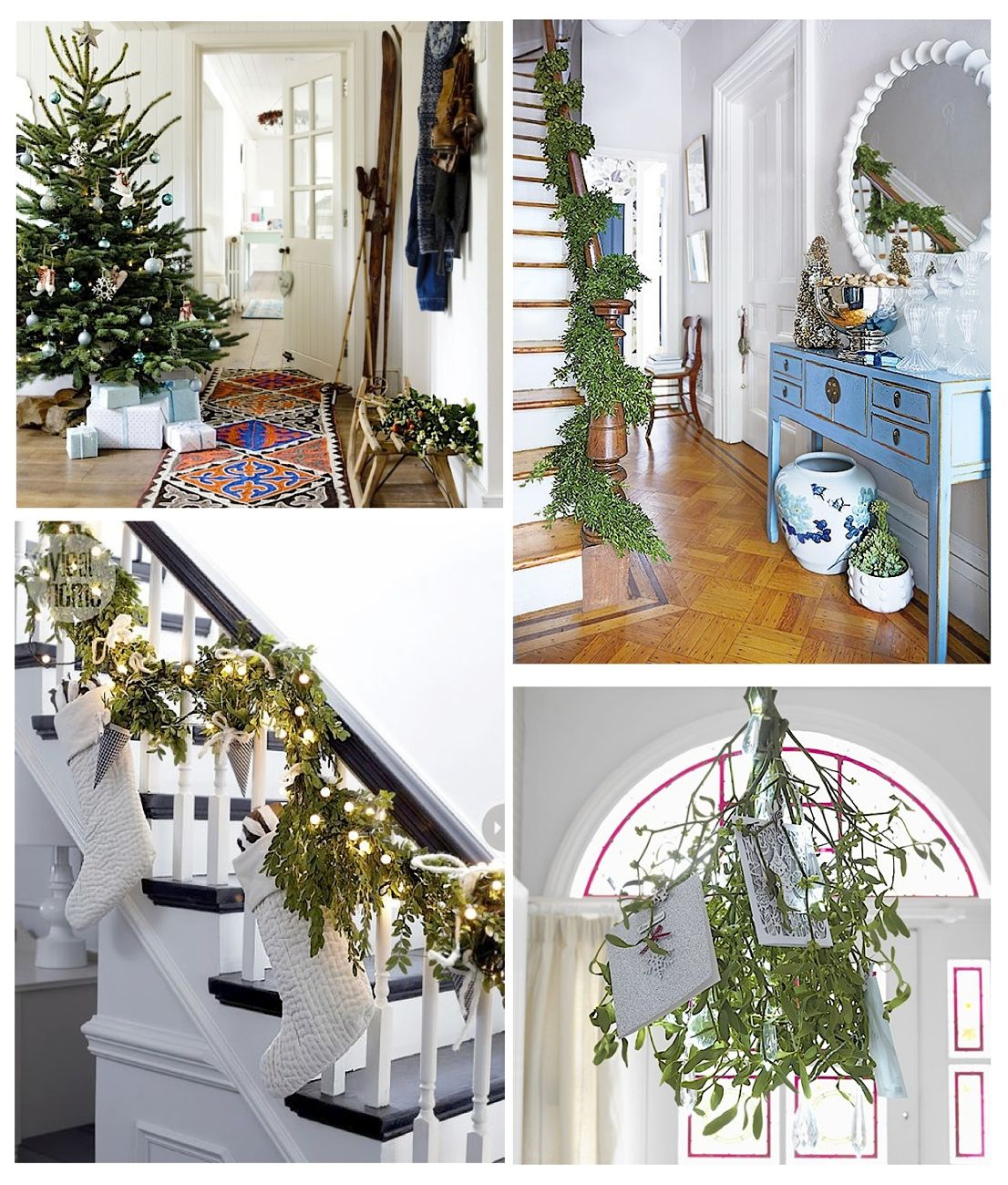 Get Your Home Ready With These 14 Christmas Hallway Ideas Style Barista