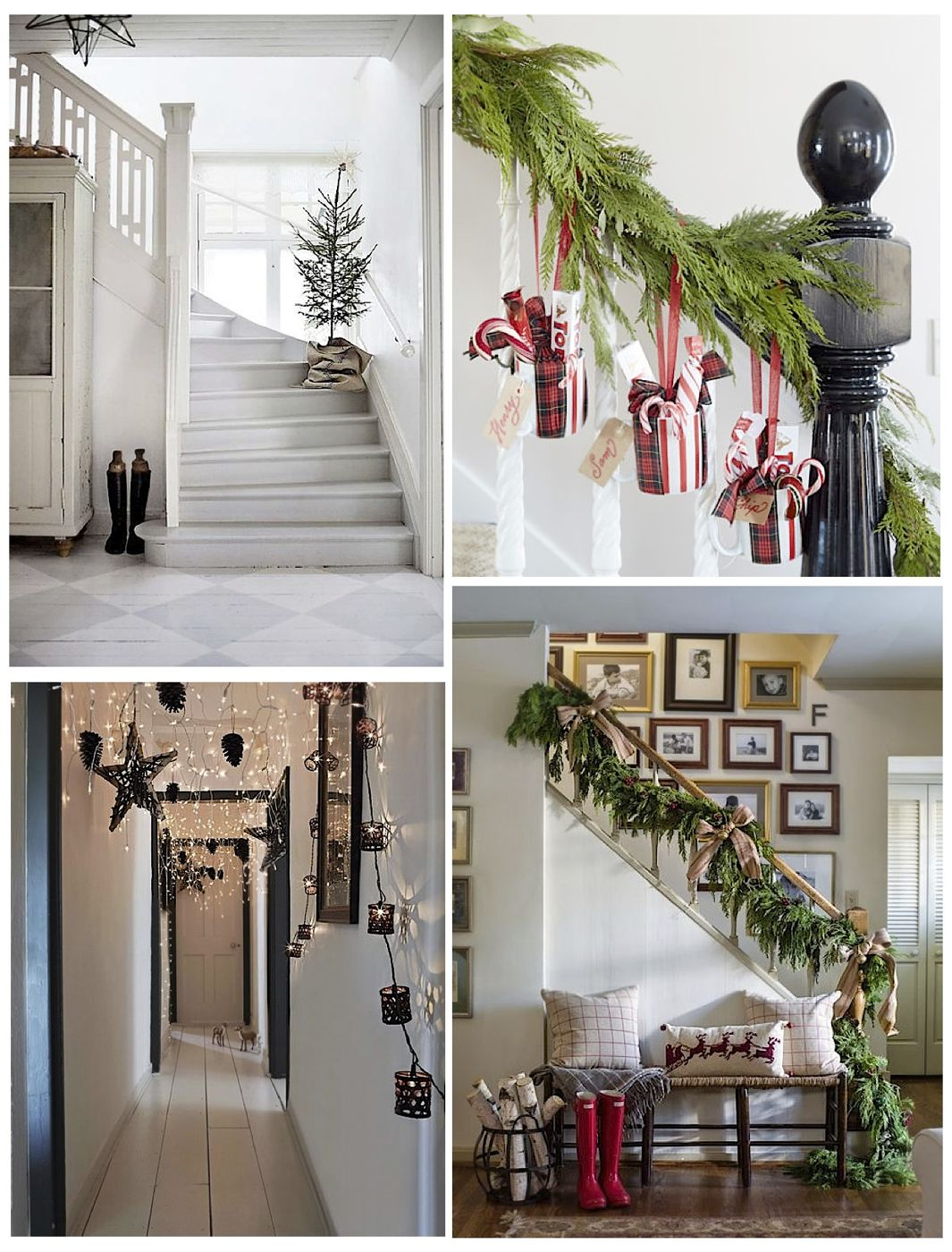 Ideas For Decorating Hallways Christmas Decoration For Home