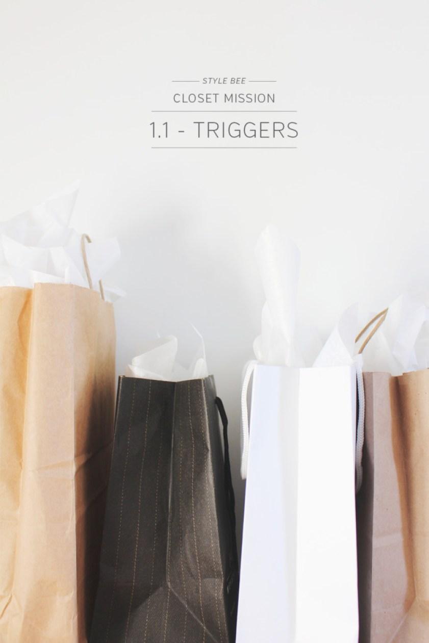 StyleBee - Closet Mission - TRIGGERS