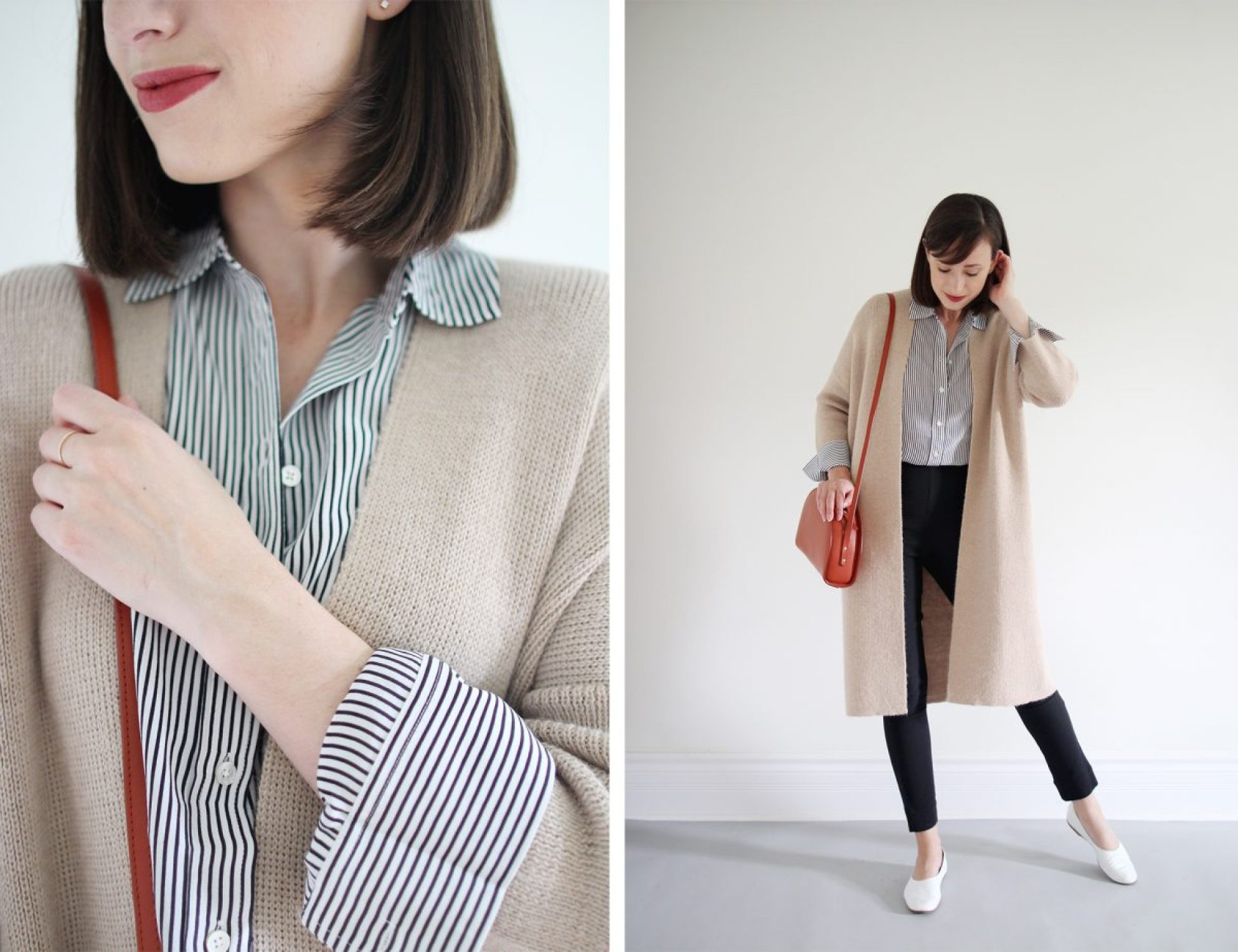 Style Bee - Striped Silk - 3 Ways