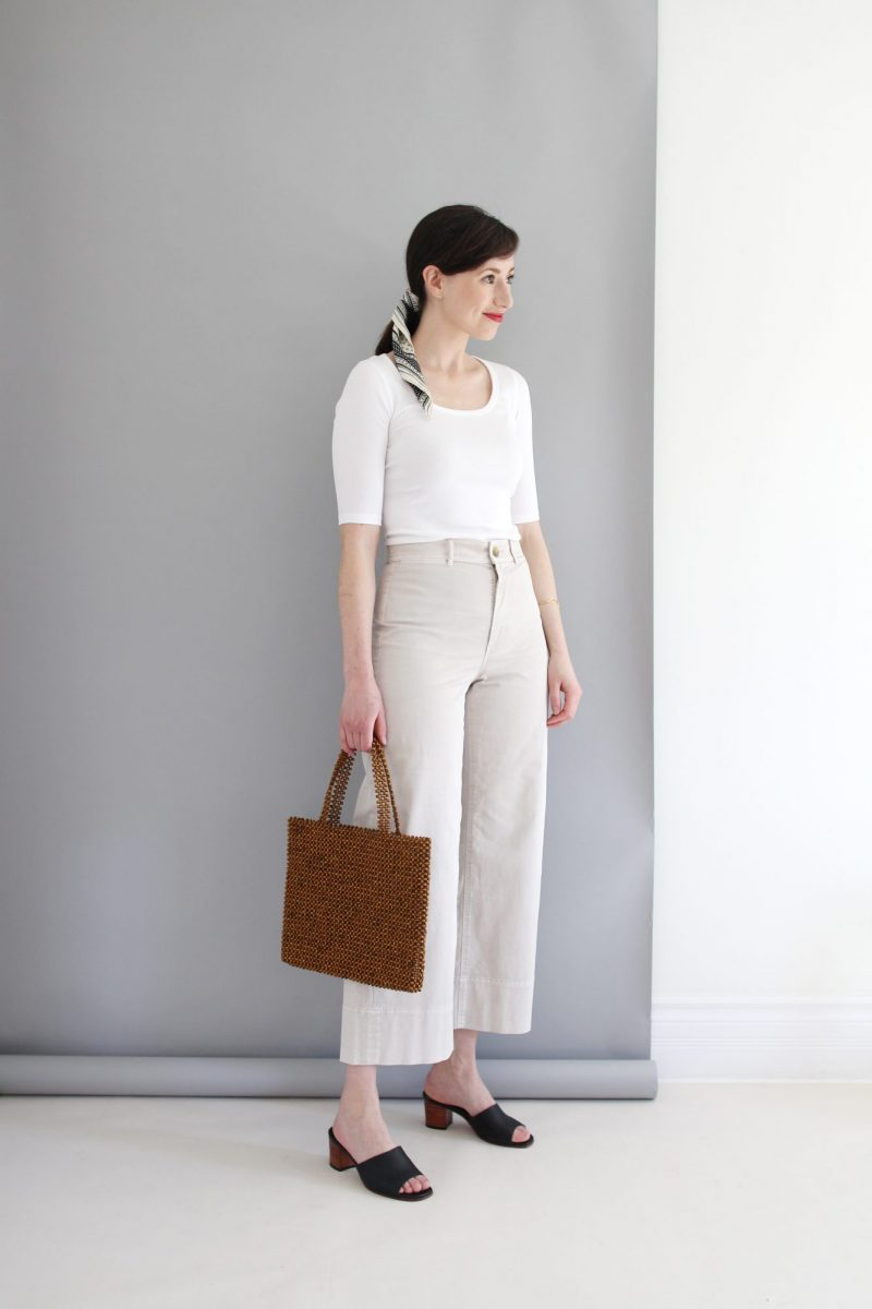 1 BASE - 6 LOOKS + WIDE LEG CHINO REVIEW