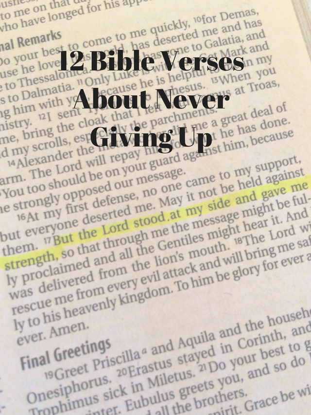 12 bible verses about