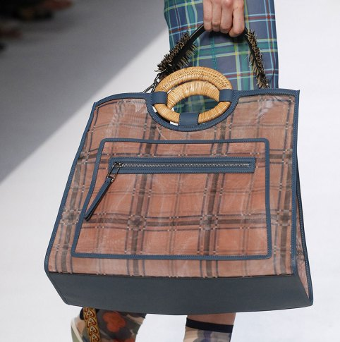 Plaid Fendi Bag