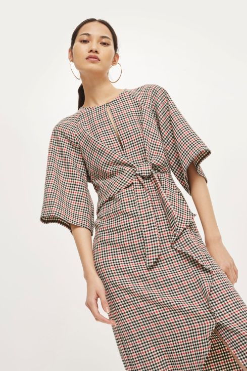 Plaid dress from Top Shop