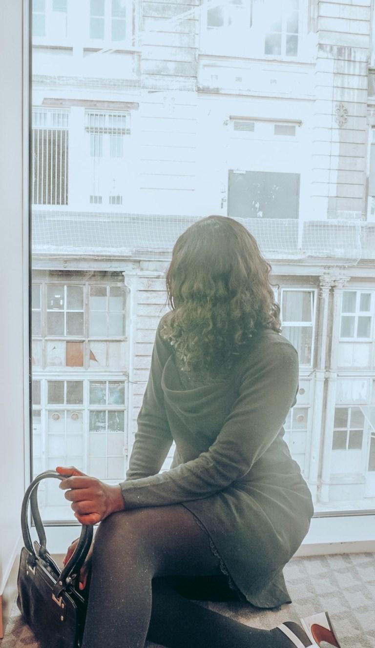 Window over looking Paris