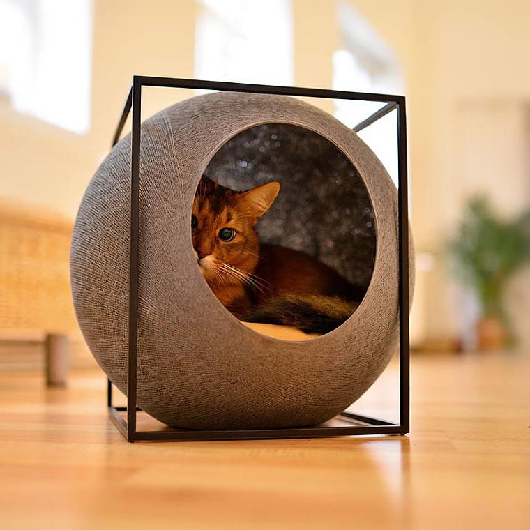 Somalikatze Kuschelhhle The Cube Bildergalerie Stylecats Design Kratzbaum