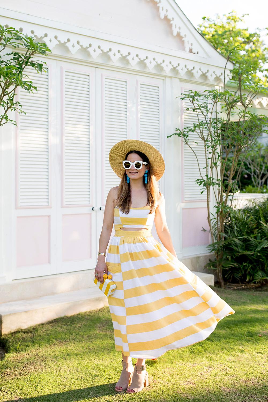 Yellow Dress Turquoise Jewelry