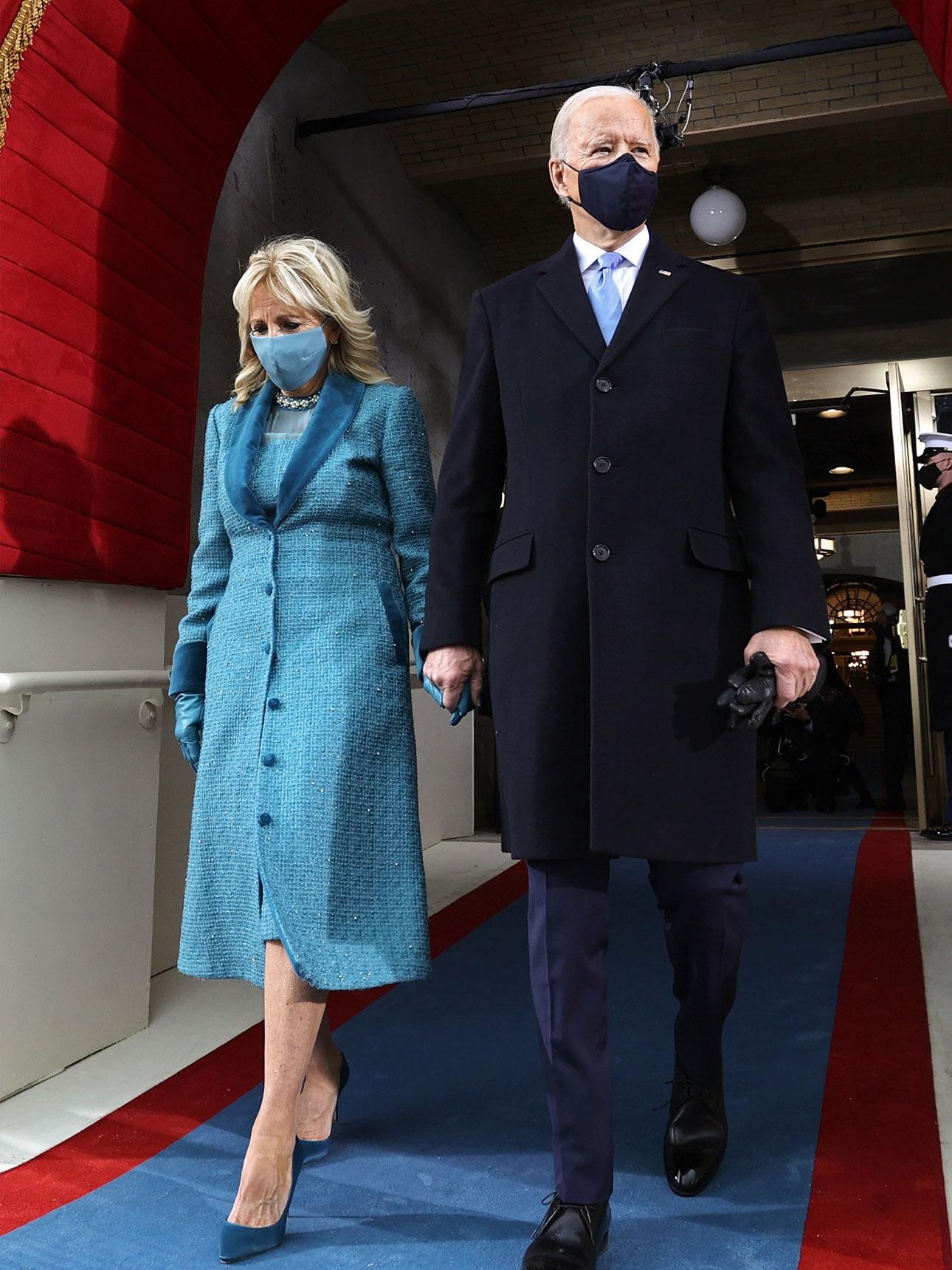 Jill Biden Inauguration Coat Markarian