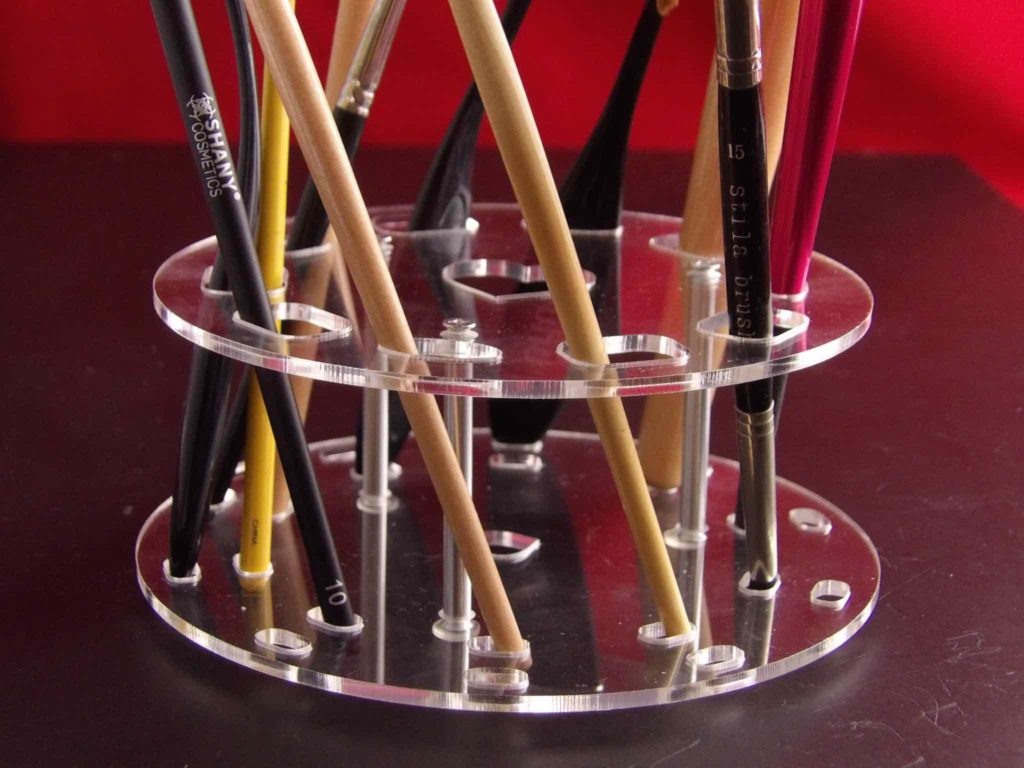 ESARORA Cosmetic Brush Holder