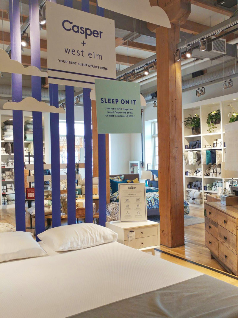 mattress giant casper launches in first canadian retail store. Black Bedroom Furniture Sets. Home Design Ideas
