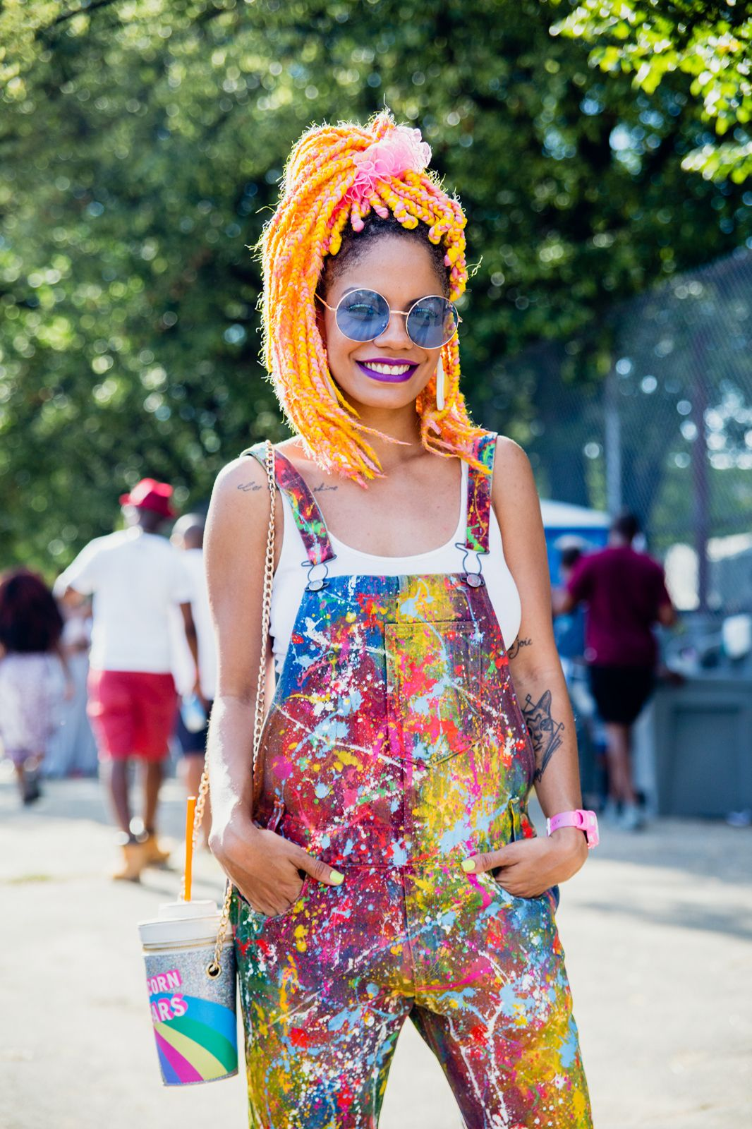 Truly Original Style At Afropunk Fest 2015 Style Domination