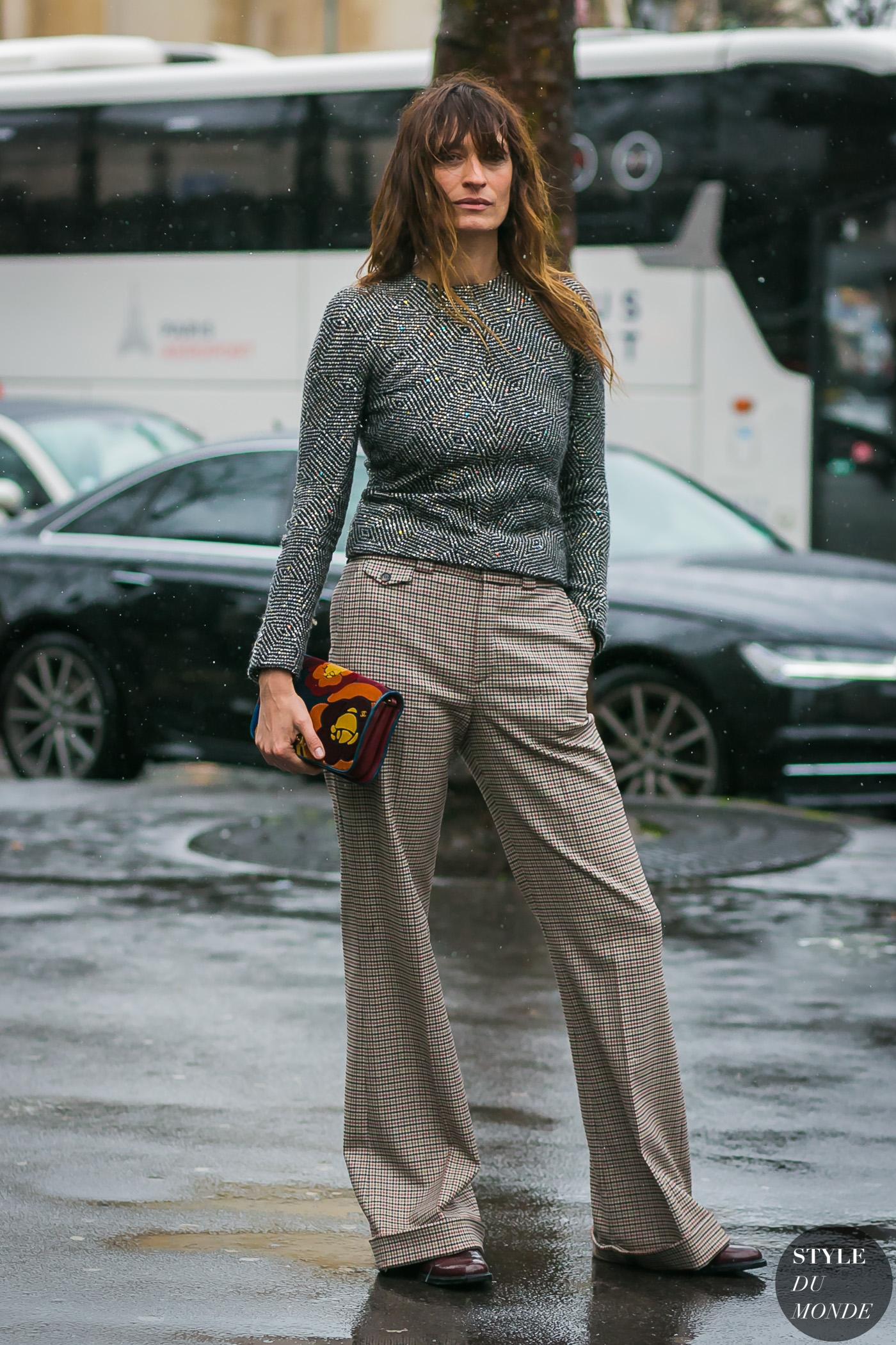 Caroline de Maigret by STYLEDUMONDE Street Style Fashion Photography