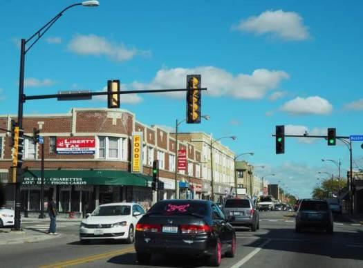 Roosevelt Road in Chicago
