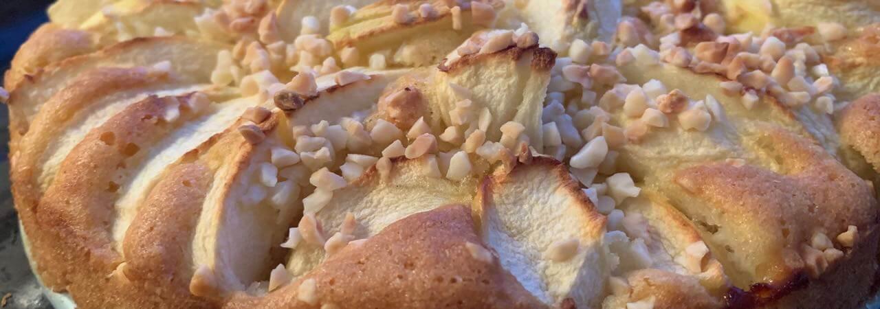 Glutenfreier Mini-Apfelkuchen