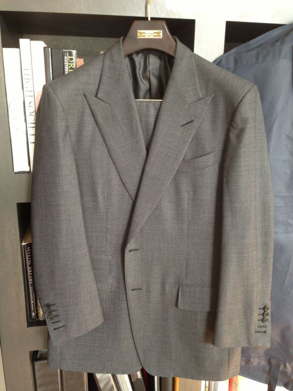Tom Ford Gray Nailhead Suit Styleforum