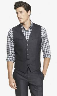 Vest + Tie + Jeans? Yay or nay?