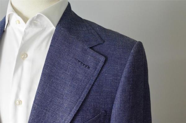 Tom Ford Suit - Blue Linen Wool Silk 52 42 Styleforum