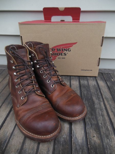 red wing boots 8115
