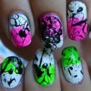 diy 15 easy- spring nail