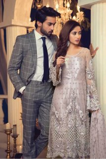 Maria B Formal Fancy Wedding Dresses 2018
