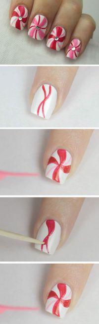 Best Easy & Lovely Christmas Nail designs |DIY Nail Art ...