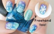 easy & lovely christmas nail