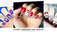 Best Easy & Lovely Christmas Nail designs | DIY Nail Art ...