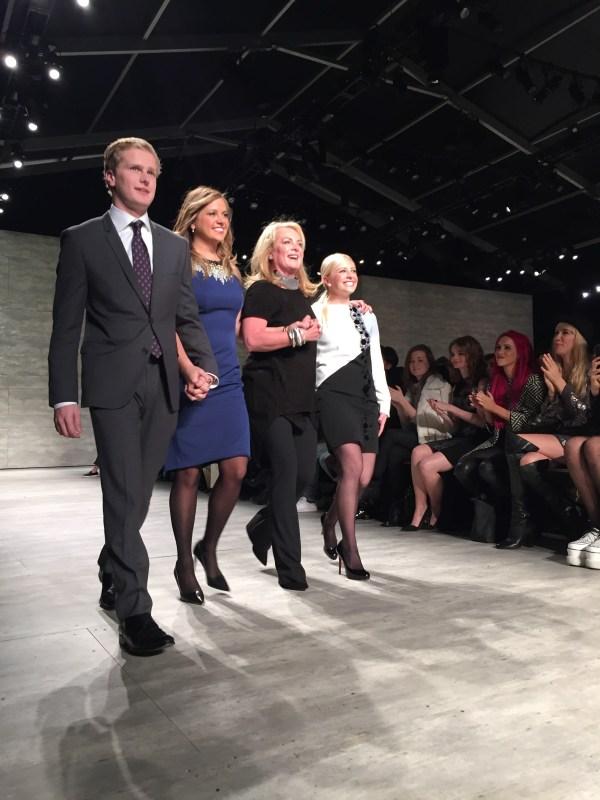 Pamela DeVos and the family.