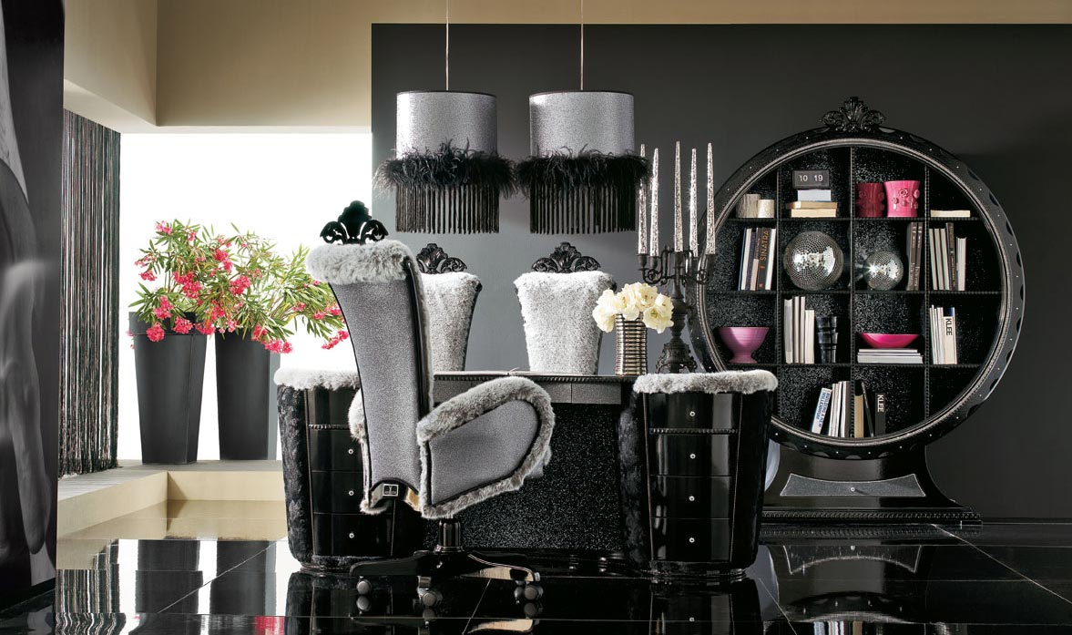 Luxurious Black and Grey House Interior  StyleHomesnet