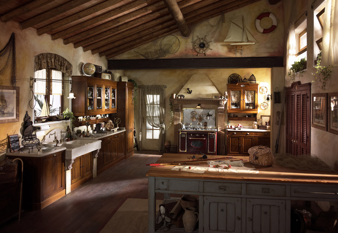 Country Chic Kitchen Valenzuela 1 by Marchi Cucine