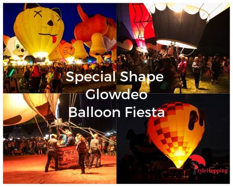 Glowzee-Balloon at night