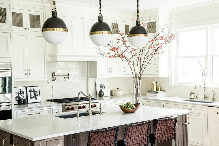 kitchen pendants hotels with in orlando how to figure spacing for island style house interiors three hicks over