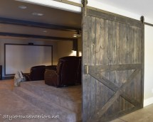 Adding Privacy With Barn Doors - Style House Interiors