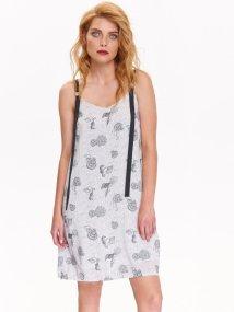TOP SECRET top secret φορεμα με print κοχυλια