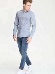 DRYWASH ανδρικο slim fit πουκαμισο