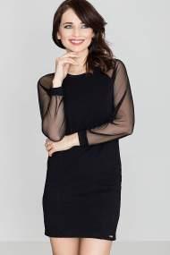 KATRUS Midi φορεμα με διαφανεια
