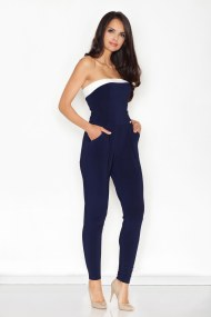 FIGL Jumpsuit- Ολοσωμη strapless φορμα